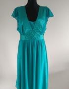 Jedwabna sukienka firmy Monsoon 44 46...