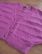 Bolerko fiolet purpura H&M...