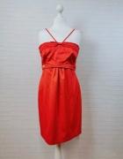 14 42 XL River Island Piękna seksowna czerwona sukienka...