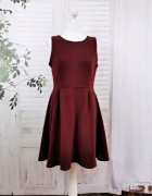 12 40 L Atmosphere Burgundowa sukienka...