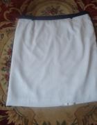 biała spódnica 48 50 52...