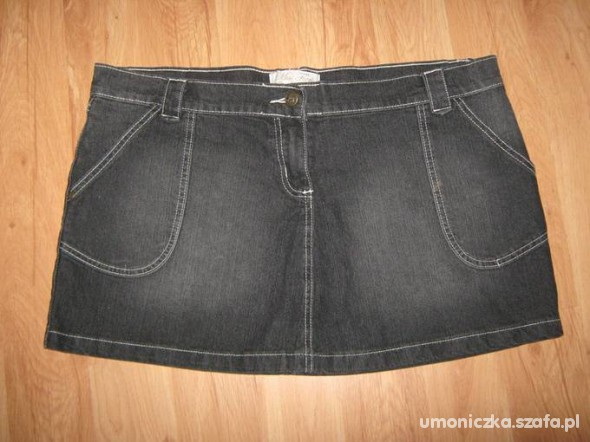 Spódnice czarna mini 44 46 48