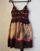 Sukienka letnia na ramiączkach rozmiar M L...