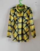 Koszula krata żółta...