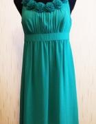 Zielona sukienka Marie Lund