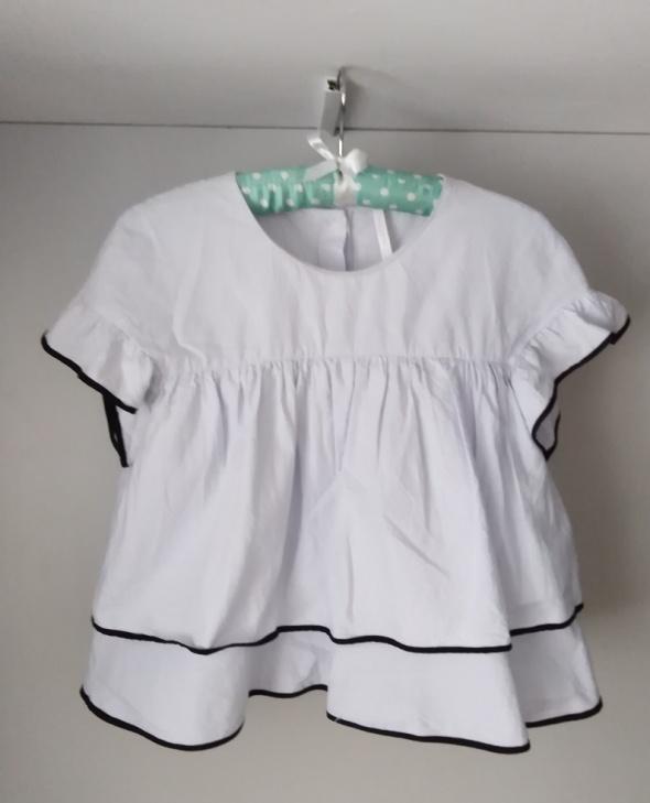 bluzka Zara falbany