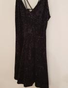 New look sukienka z kolorowym brokatem S M...