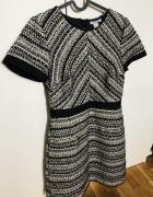 H&M śliczna sukienka 36 S zip...
