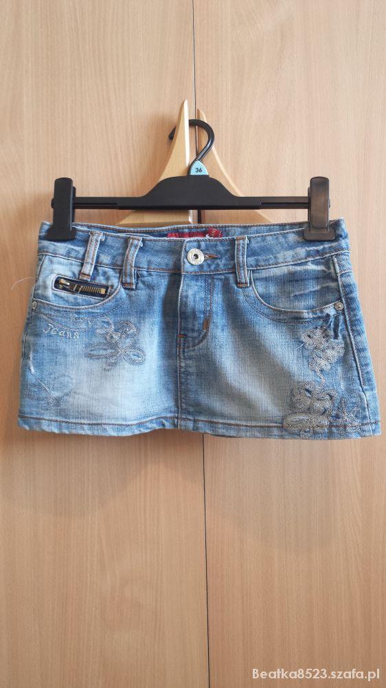 Spódnice Dżinsowa spódniczka