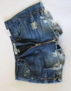 jeansowe spódnico spodenki s...