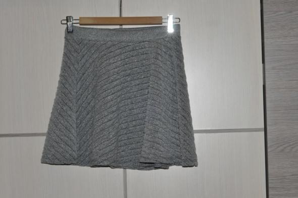 Spódnice Szara spódnica rozkloszowana Zara S 36 nowa z metk