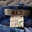 ATTRATTIVO szorty spodenki jeansowe z wiązaniami rozm 34 XS stan BDB