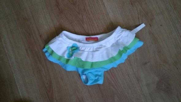 Kolorowa majtki plażowe falbanki
