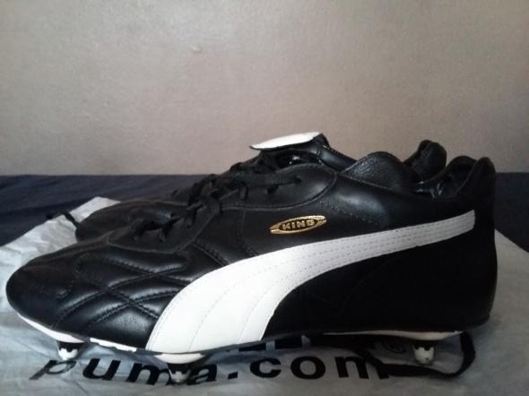 skórzane korki buty sportowe męskie Puma King Pro SG Duo