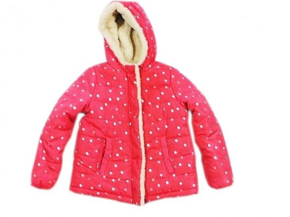 PEPCO kurtka dziewczeca zimowa rozowa rozm 116 lat 6