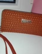 Nowy portfel Kadiou pikowany brązowy
