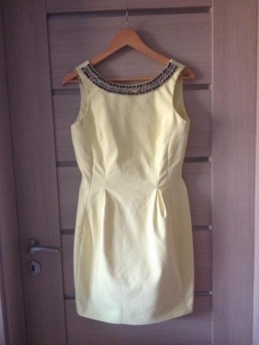 Żółta sukienka Mohito xs