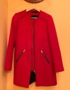 Czerwony płaszcz Zara rozmiar S...