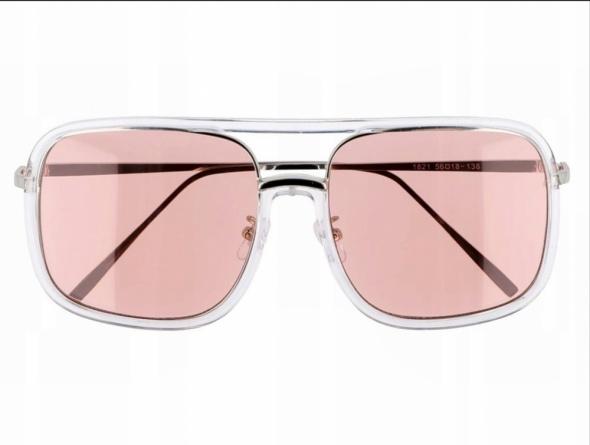 Okulary przeciwsłoneczne pilotki oversize duże NOWE z metką