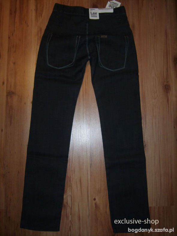 Lee WORKS of DENIM grafitowe nowy fason W30 L32...