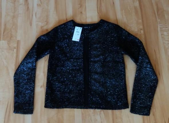 Czarny połyskujący żakiet Reserved 38
