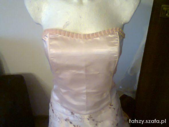 Suknie i sukienki Gorset spodnica sukienka