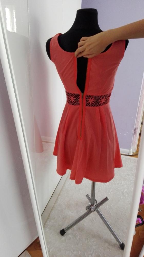 Suknie i sukienki sukienka z zakmiem