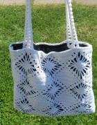 Nowa torebka torba szydełkowa rękodzieło worek kolory...