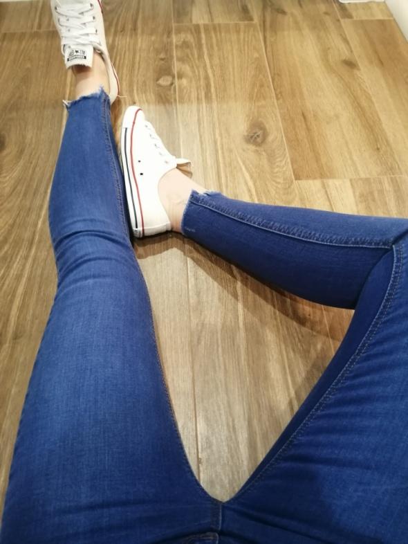 Spodnie skinny s...