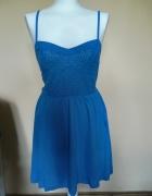 Niebieska sukienka Atmosphere...