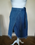 Spódnica Pull&Bear jeansowa...