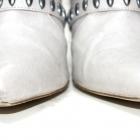H&M botki w szpic szpilka ćwieki