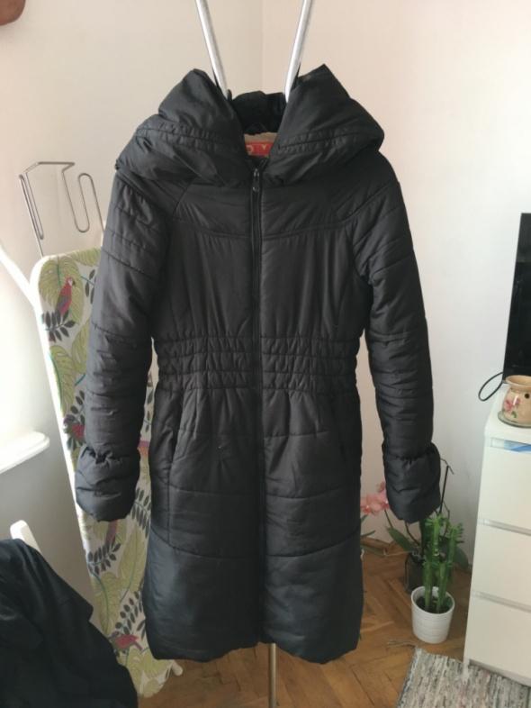 Czarna kurtka puchowa na zimę Ravel rozm L