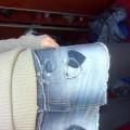Śliczna Jeansowa mini rozm 38 Moto z Topshop
