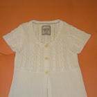 Biały sweter tunika ESPRIT