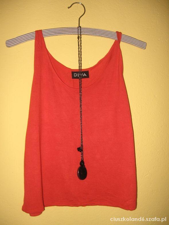 top oversize pomaranczowa koszulka S M 36 38
