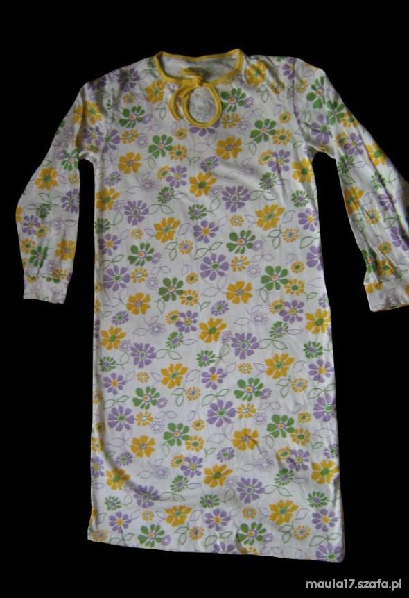 Koszula nocna w kwiatki roz M