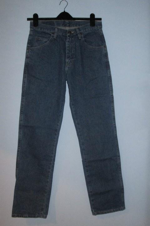 Męskie niebieskie jeansy Wrangler