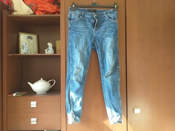 dzinsowe meskie spodnie