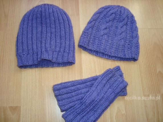 Komplety Komplet dwie czapki i zarękawki FLIOTET