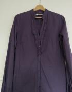 Bluzka koszula Reserved fiolet żabot rozm 40...