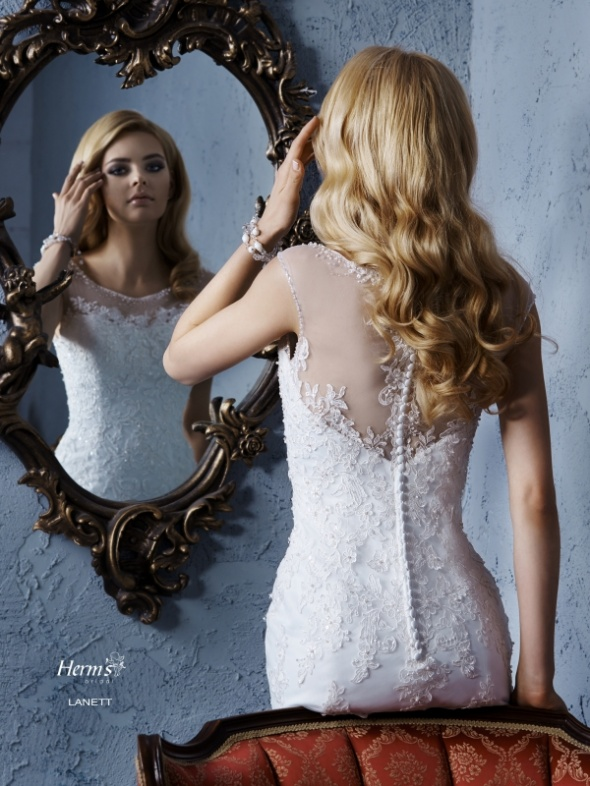 Biała Suknia Ślubna Herms Bridal Lanett
