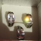 zestaw srebrne kolczyki z zawieszką próba 925