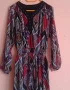 Sukienka w etniczne wzory r 36...
