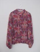 kolorowa bluzka etniczne wzory boho hippie...
