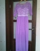 długa suknia nowa