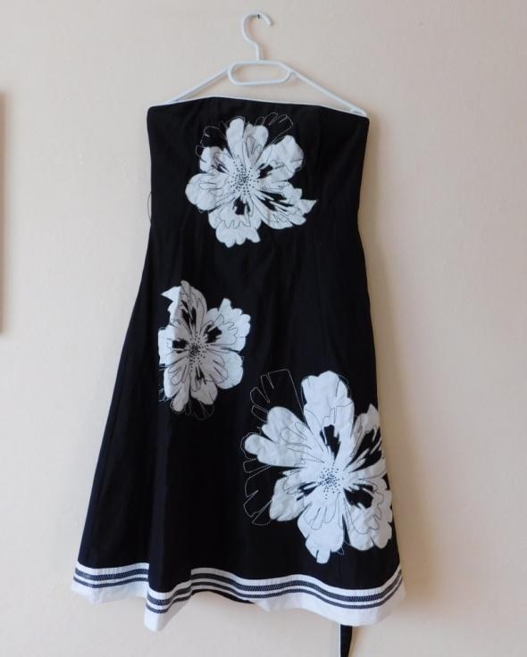 Debenhams sukienka midi jedwab czarna 36...