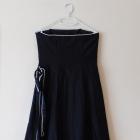 Debenhams sukienka midi jedwab czarna 36