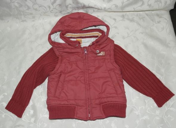 Bordowa kurtka ciepła 80