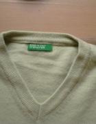 sweterek wełna Benetton...